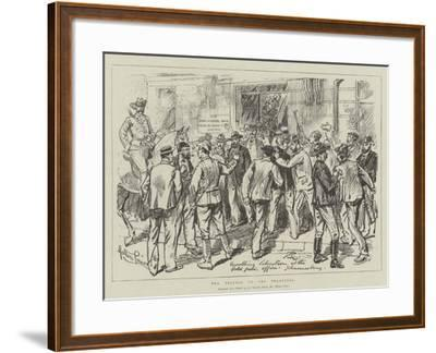 The Trouble in the Transvaal-Melton Prior-Framed Giclee Print