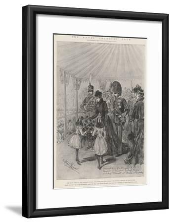 The Royal Colonial Tour-Melton Prior-Framed Giclee Print