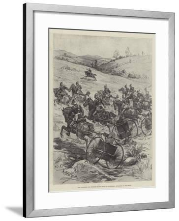 New Galloping Gun Designed by the Earl of Dundonald, Advancing to the Front-Melton Prior-Framed Giclee Print