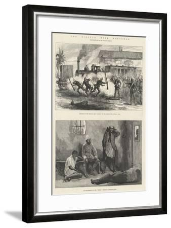 The Dispute with Portugal-Melton Prior-Framed Giclee Print