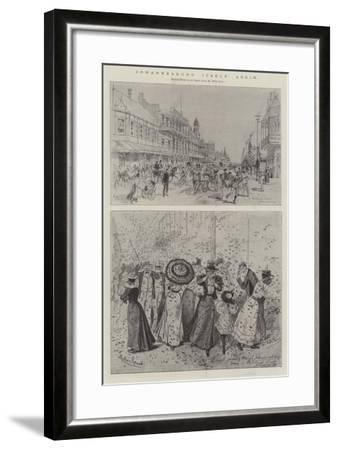 Johannesburg Itself Again-Melton Prior-Framed Giclee Print