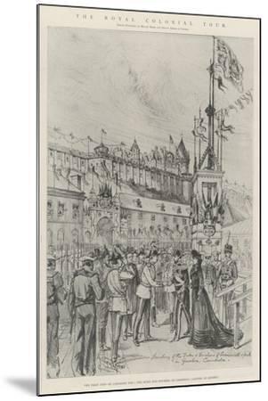 The Royal Colonial Tour-Melton Prior-Mounted Giclee Print