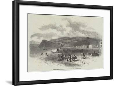 Watering-Places of England, Teignmouth, The Den-Myles Birket Foster-Framed Giclee Print