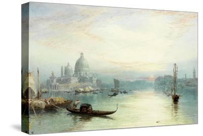 Entrance to the Grand Canal, Venice-Myles Birket Foster-Stretched Canvas Print