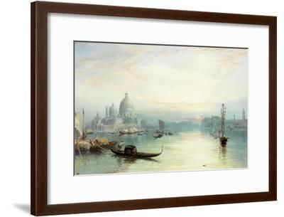 Entrance to the Grand Canal, Venice-Myles Birket Foster-Framed Giclee Print