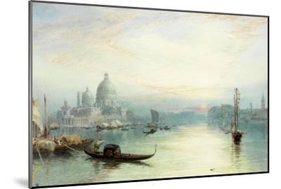 Entrance to the Grand Canal, Venice-Myles Birket Foster-Mounted Giclee Print