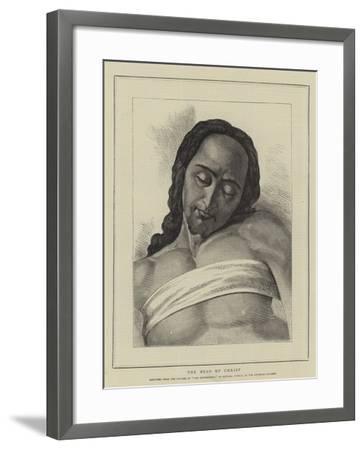 The Head of Christ-Michelangelo Buonarroti-Framed Giclee Print