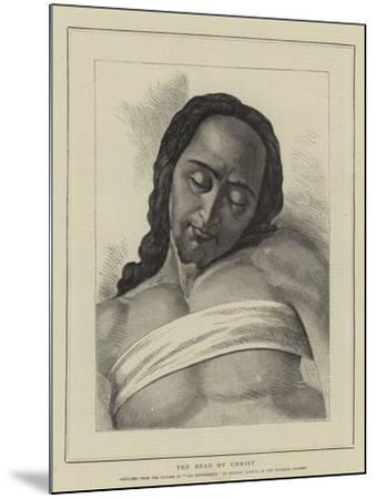 The Head of Christ-Michelangelo Buonarroti-Mounted Giclee Print