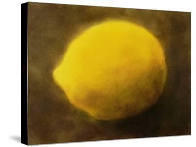 Lemon (No. 2)-Neal Brown-Stretched Canvas Print