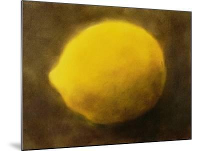Lemon (No. 2)-Neal Brown-Mounted Giclee Print