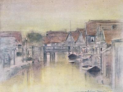 Edam-Mortimer Ludington Menpes-Framed Giclee Print