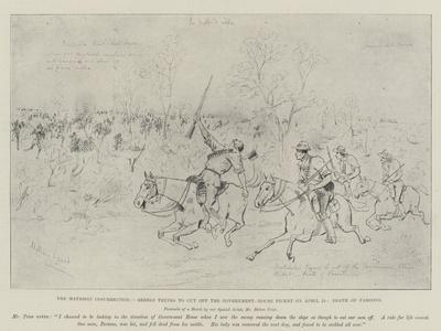 The Matabili Insurrection-Melton Prior-Framed Giclee Print