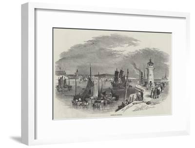 Ramsgate Harbour-Myles Birket Foster-Framed Giclee Print