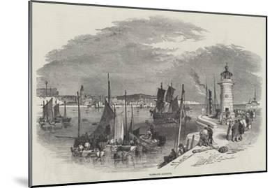 Ramsgate Harbour-Myles Birket Foster-Mounted Giclee Print