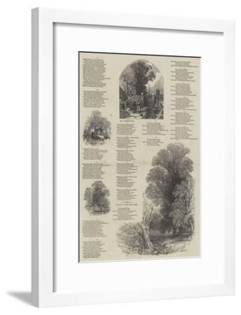 May Lyrics-Myles Birket Foster-Framed Giclee Print