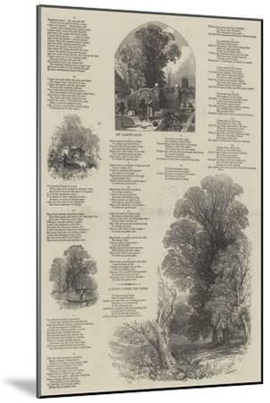 May Lyrics-Myles Birket Foster-Mounted Giclee Print