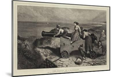 The Capture of a 32-Pounder-Myles Birket Foster-Mounted Giclee Print