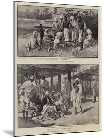 The Advance in the Soudan-Oswaldo Tofani-Mounted Giclee Print