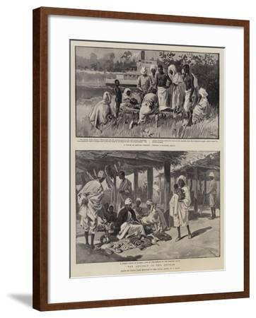 The Advance in the Soudan-Oswaldo Tofani-Framed Giclee Print
