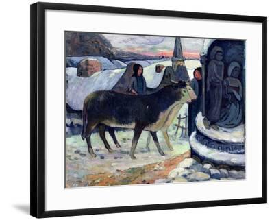 Christmas Night, C.1902-3-Paul Gauguin-Framed Giclee Print
