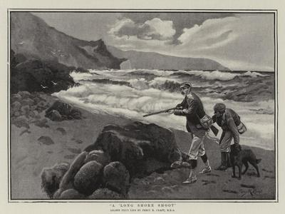 A Long Shore Shoot-Percy Robert Craft-Framed Giclee Print