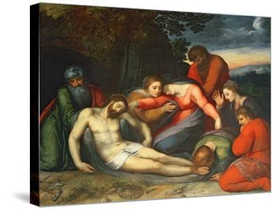 The Lamentation of Christ-Otto van Veen-Stretched Canvas Print