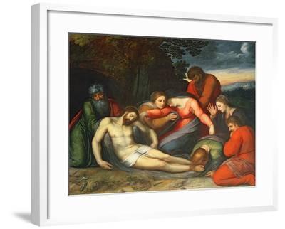 The Lamentation of Christ-Otto van Veen-Framed Giclee Print