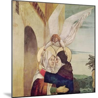 The Meeting of St. Anne and St. Joachim at the Golden Gate, C.1499-Nicolas d' Ypres-Mounted Giclee Print