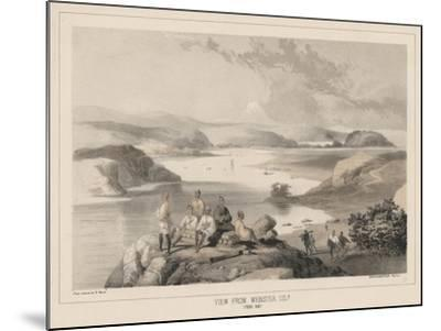 View from Webster Island, Yedo Bay, Litho by Sarony and Co., 1855-Peter Bernhard Wilhelm Heine-Mounted Giclee Print