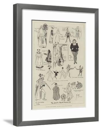 The Crystal Palace Pantomime, The Babes in the Wood and Bold Robin Hood-Phil May-Framed Giclee Print
