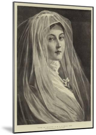 Type of Beauty, X-Philip Richard Morris-Mounted Giclee Print