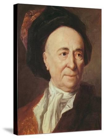 Bernard Le Bovier De Fontenelle-Nicolas de Largilliere-Stretched Canvas Print