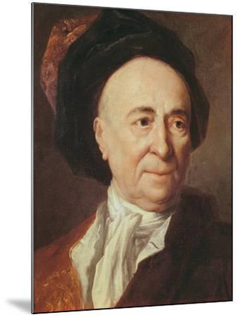 Bernard Le Bovier De Fontenelle-Nicolas de Largilliere-Mounted Giclee Print
