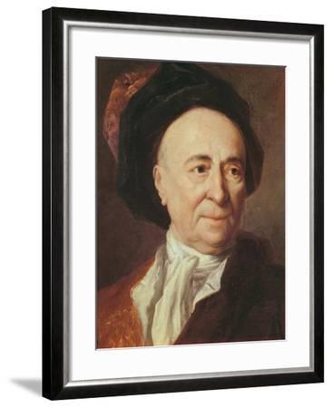 Bernard Le Bovier De Fontenelle-Nicolas de Largilliere-Framed Giclee Print