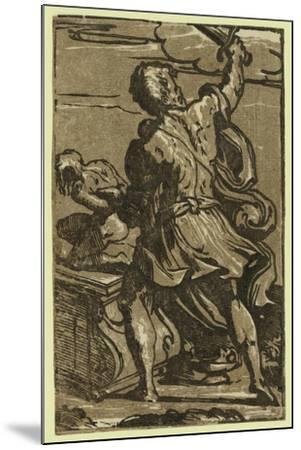 The Sacrifice of Abraham, Between Ca. 1520 and 1700-Parmigianino-Mounted Giclee Print