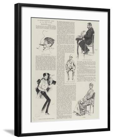 An English Humoristic Artist, Mr Phil May at Home-Phil May-Framed Giclee Print