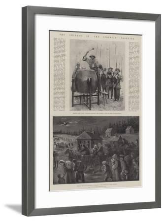The Chinese on the Siberian Frontier-Paul Frenzeny-Framed Giclee Print