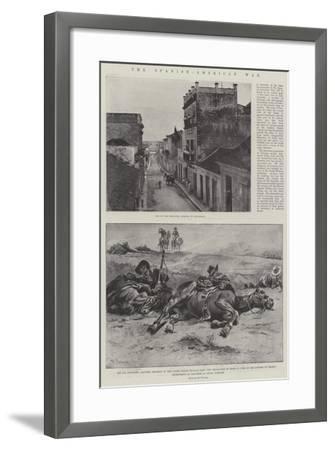 The Spanish-American War-Paul Frenzeny-Framed Giclee Print