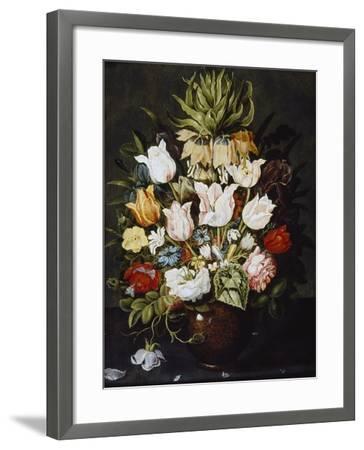A Vase of Flowers, C. 1616-Osias The Elder Beert-Framed Giclee Print