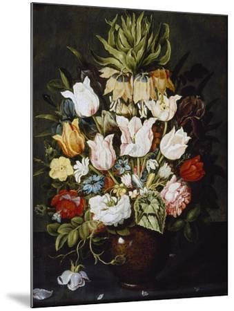 A Vase of Flowers, C. 1616-Osias The Elder Beert-Mounted Giclee Print