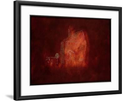 House-Neal Brown-Framed Giclee Print
