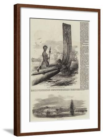 New Zealand-Oswald Walters Brierly-Framed Giclee Print