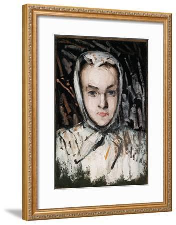 Marie Cézanne, the Artist's Sister, 1866-67-Paul C?zanne-Framed Giclee Print