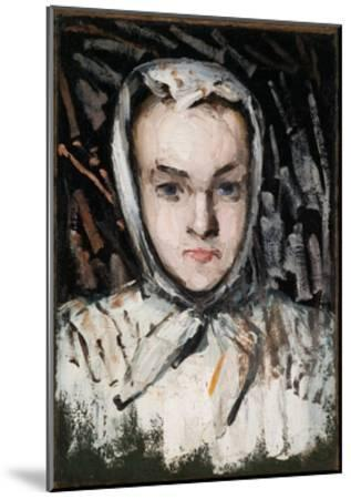 Marie Cézanne, the Artist's Sister, 1866-67-Paul C?zanne-Mounted Giclee Print