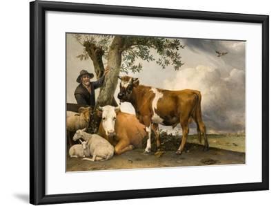 The Bull, 1647-Paulus Potter-Framed Giclee Print