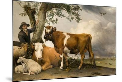The Bull, 1647-Paulus Potter-Mounted Giclee Print