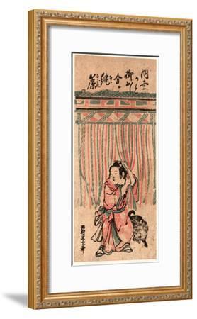 Nawasudare-Nishimura Shigenaga-Framed Giclee Print