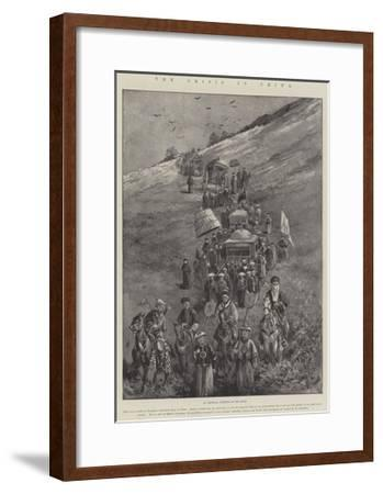 The Crisis in China-Paul Frenzeny-Framed Giclee Print