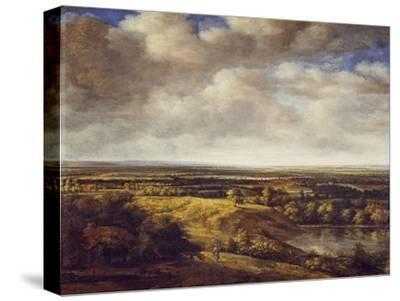 An Extensive Landscape, 1666-Phillips de Koninck-Stretched Canvas Print