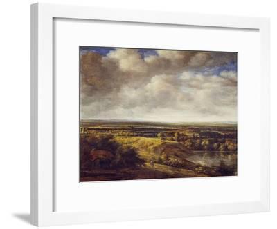 An Extensive Landscape, 1666-Phillips de Koninck-Framed Giclee Print